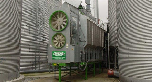 Sukup Farm Galvenized Grain Dryer